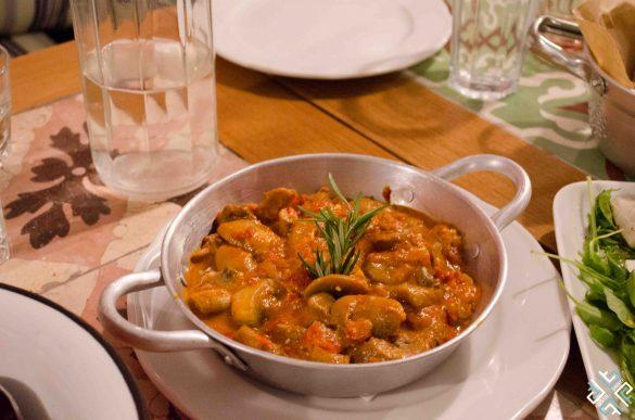 Dinner at Manas Kouzina Kouzina
