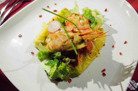 The food couldn't get any sexier – Aphrodisiac dinner at The White Palace