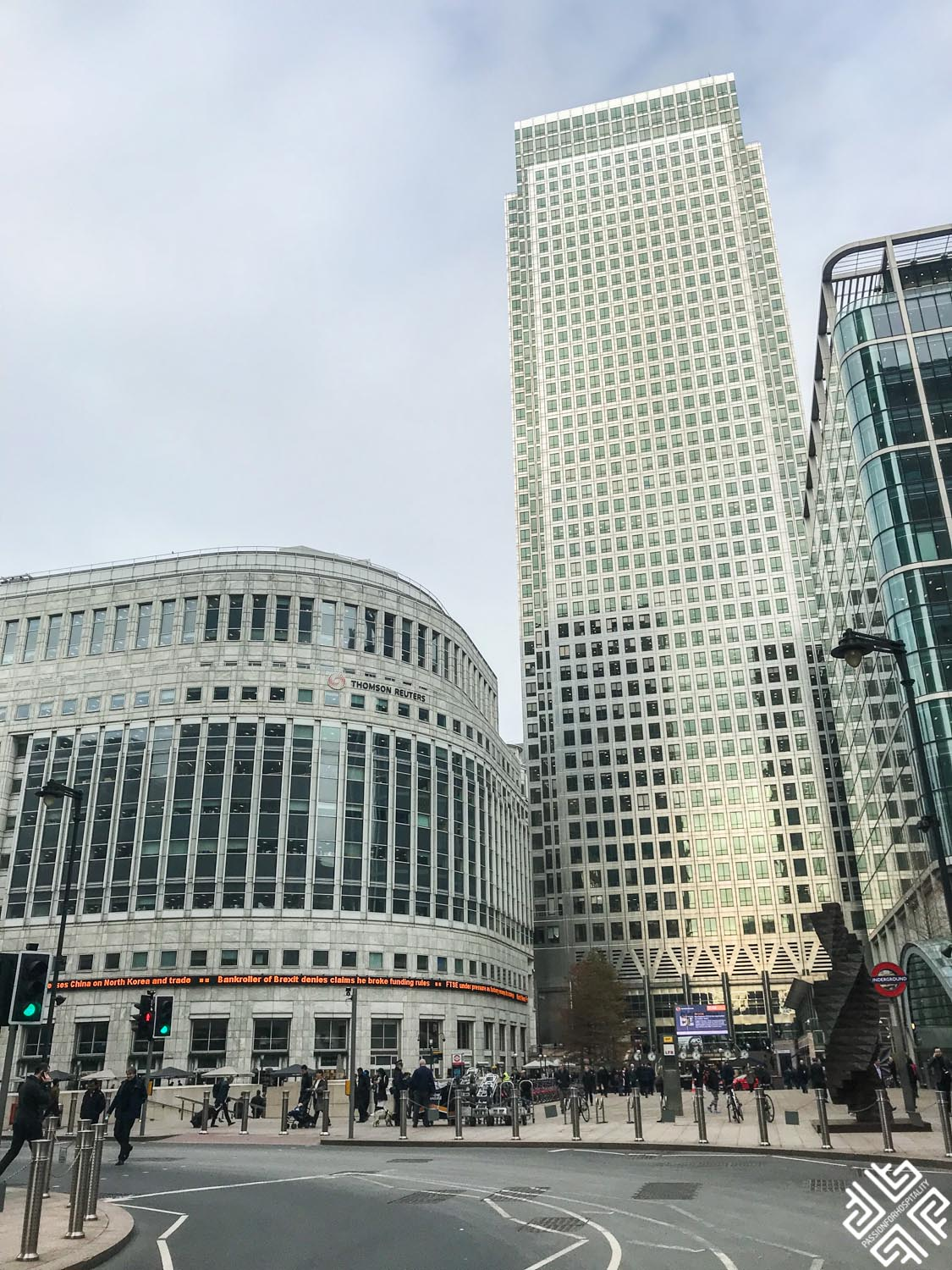 Novotel London Canary Wharf:  A mix of historical and modern