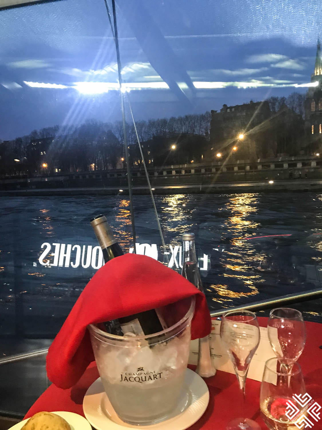 Dinner Cruise in Paris with Bateaux Mouches