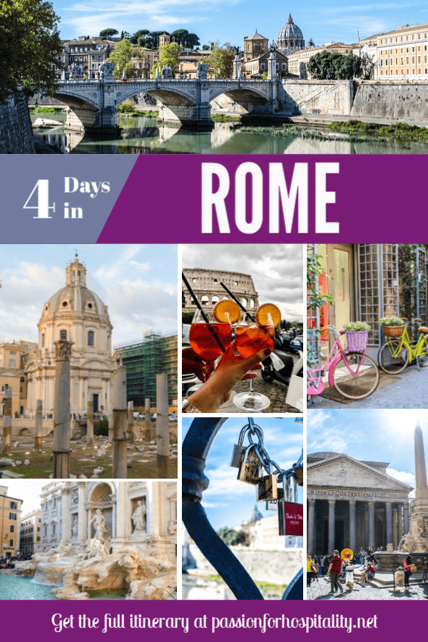 The perfect 4 days in Rome itinerary, all the sites as well as day trips from Rome to Naples and Pompei