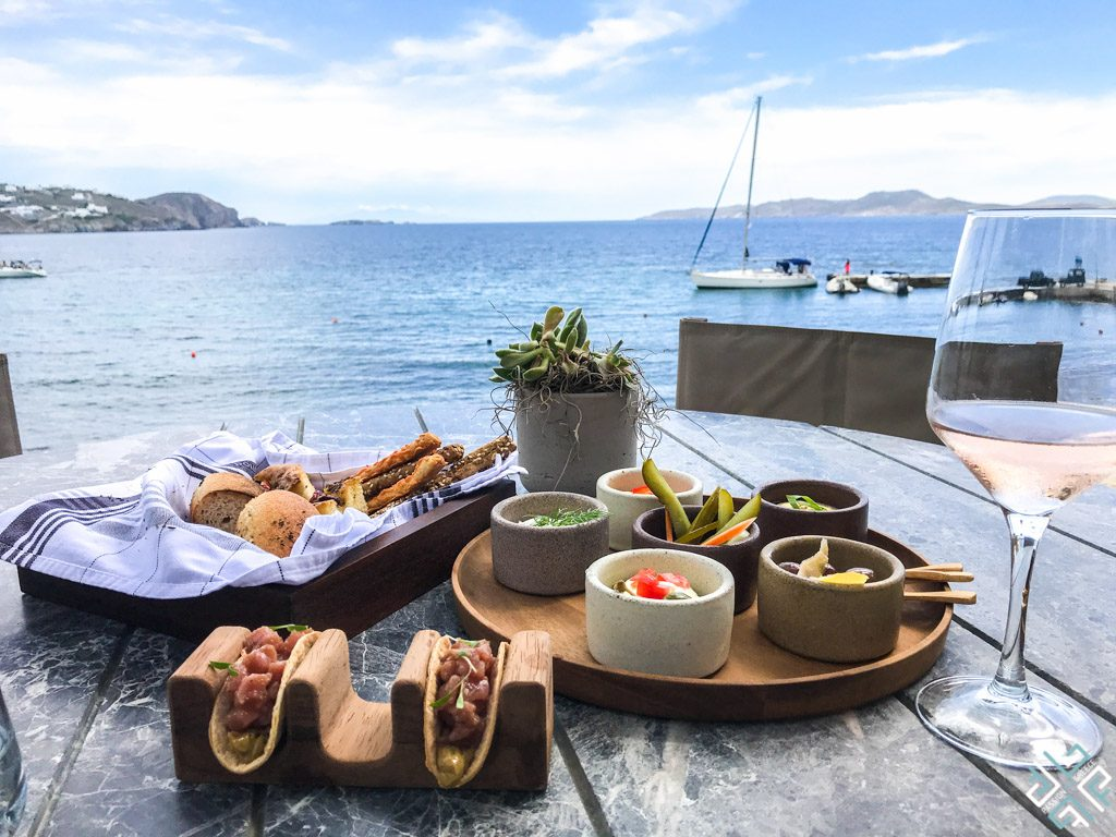 best places to eat in Mykonos