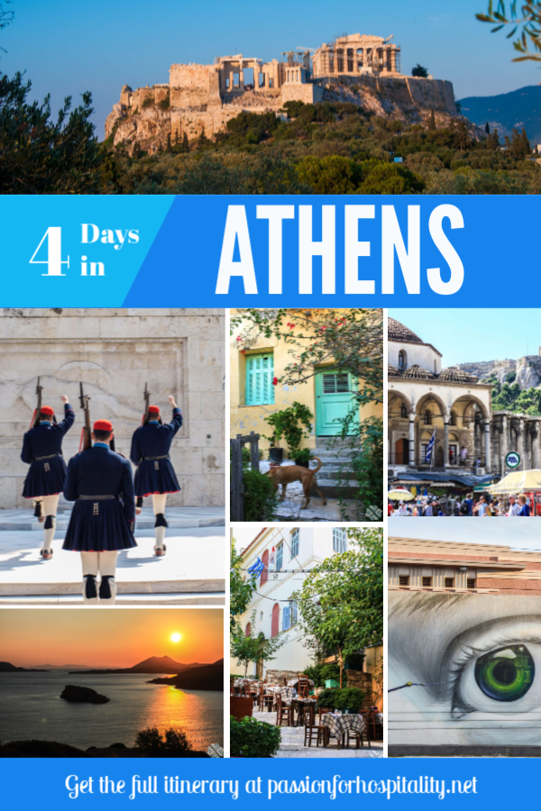 4 days in Athens itinerary