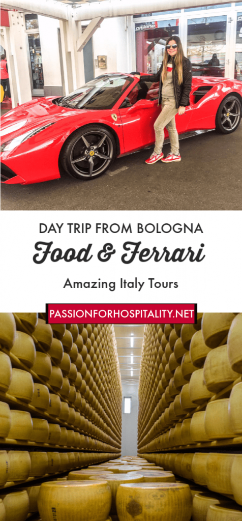 Love food and fast cars? Then one of the Bologna tours which you must definitely add to your bucket list is the Food and Ferrari Experience organised by Amazing Italy Tours.