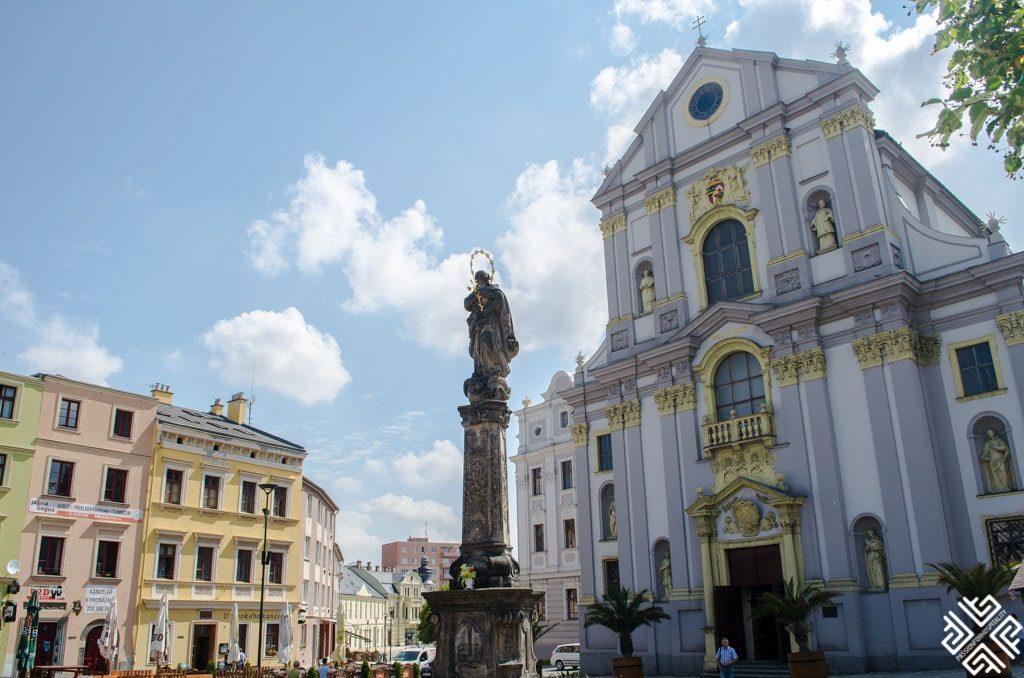historical center of Opava, Saint Vojtěch Church