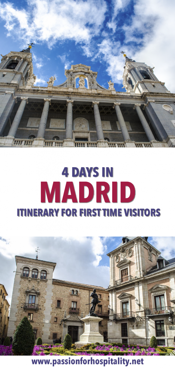 How to spend 4 days in Madrid, Spain. The ultimate travel itinerary
