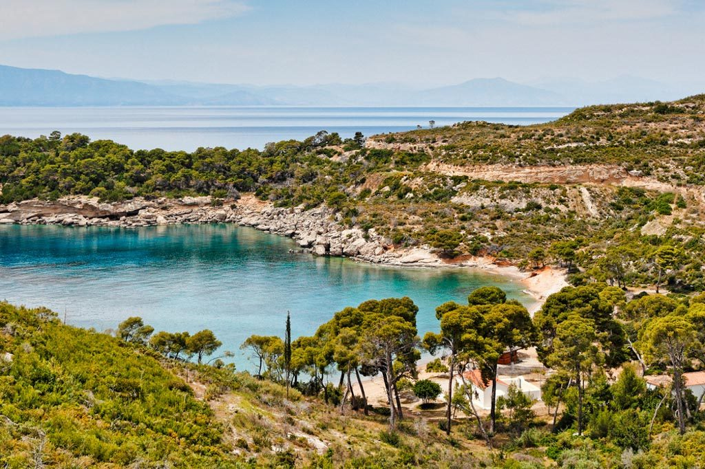 the best beaches of Spetses