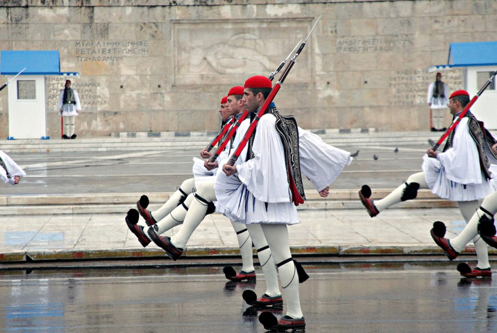 25 March is a National Holiday in Greece. It is a double holiday, celebrated as both a day of independence and an important religious holiday.