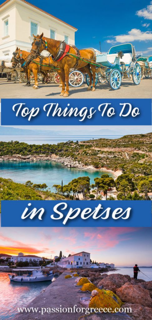 Top things to do in Spetses, Greece. From museums, to festivals, beaches and day trips to nearby islands.