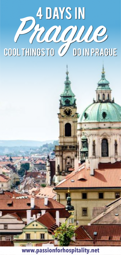 4 days itinerary in Prague