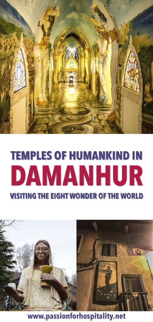 Temples of humankind Damanhur in Italy. The 8th wonder of the World
