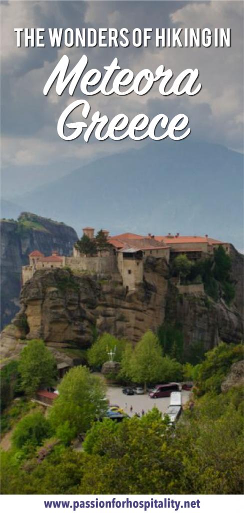 The wonders of hiking in Meteora Greece